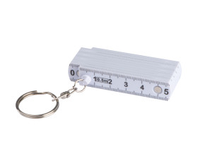 Keyring with 0,5m ruler