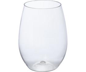 Plastic glass St. Tropez