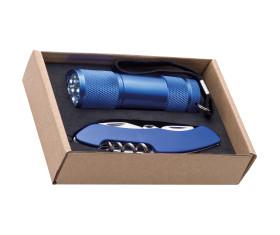 Set torch and pocket knife Dover