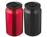 Can shaped drinking tin - metallic look