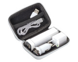 Travel set - Powerbank, EU Plug, USB Charger