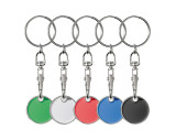 Keyring with shopping coin