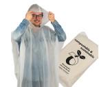 Poncho de pluie compostable Fleurus